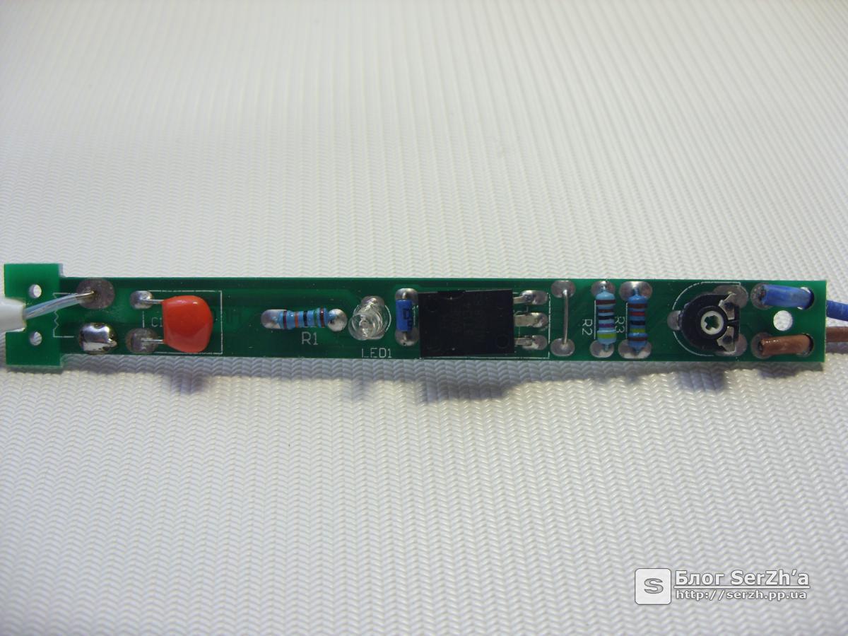 простая схема регулятора мощности электропаяльника