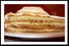 Торт с абрикосовым вареньем
